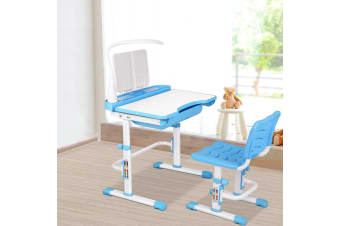 Artiss Kids Study Desk and Chair - Blue