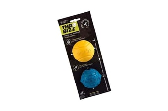 Throwbizz Big Dog Ball Toy (Pack Of 2) (May Vary) (One Size)