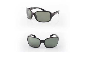 Grey Tonic Cove Photochromic Glass Lense Fishing Sunglasses with Black Frame - Polarised Sunnies