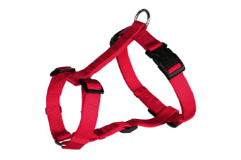Trixie Classic H-Harness For Dogs (Red)