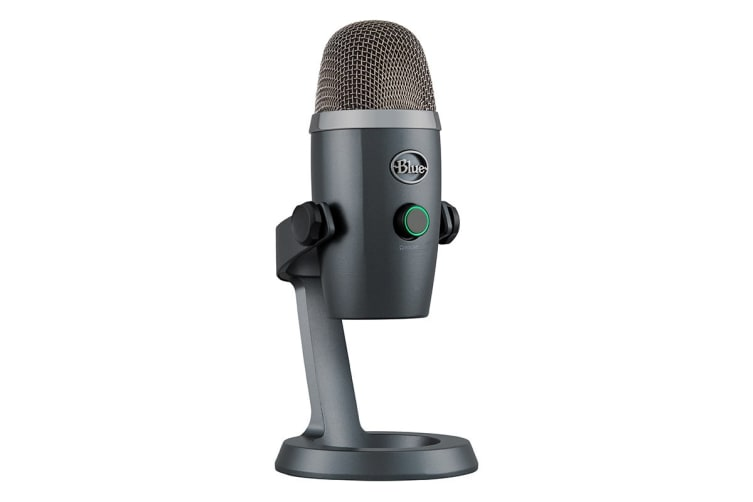 Blue Yeti Nano Premium USB Microphone - Shadow Grey