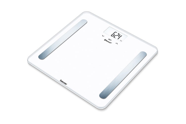 Beurer Bluetooth Glass Body Fat Scale (BF600W)