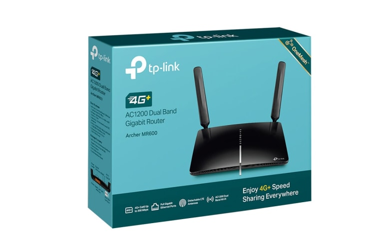 TP-Link 4G+ Cat6 AC1200 Wireless Dual Band Gigabit Router (MR600)