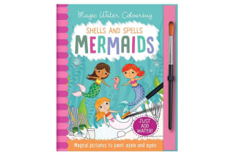 Magic Water Colouring Shells and Spells Mermaids