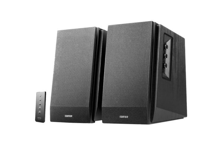 Edifier R1700BT 2.0 Lifestyle Bookshelf Bluetooth Studio Speakers - Black (SPE-R1700BT-BK)