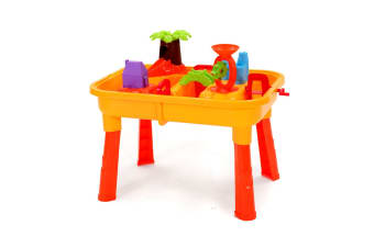 Water & Sand Activity Table Set With Chair
