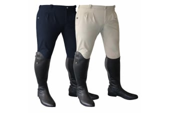 Mark Todd Mens Winter Performance Breeches (Navy) (38 inches)