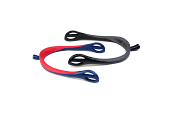 Whitaker Soft Touch Nylon Spurs (Red/Navy)
