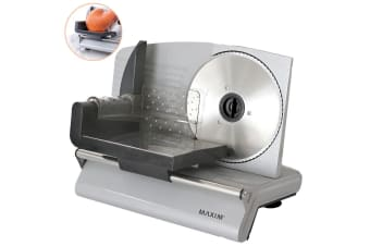 MAXIM 200W Electric Food Slicer Meat Cheese Fruit Vegetables Bread/Processor