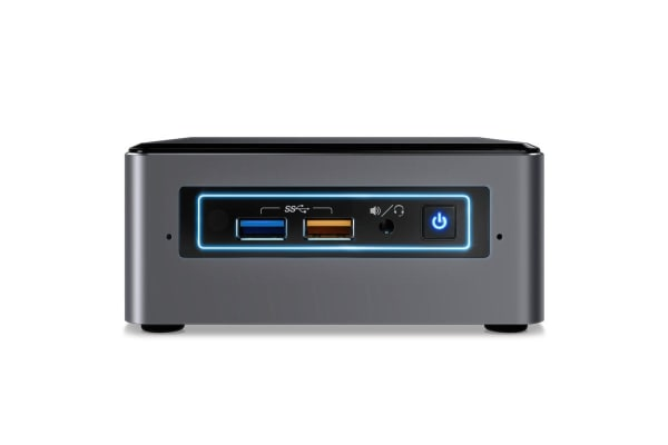 Intel NUC Mini PC with Core i7-7567U, 32GB Optane Memory, 8GB RAM, 2TB HDD & Windows 10 (BOXNUC7I7BNHXG)