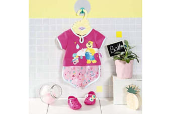 Baby Born Shorty Pyjama Doll Clothes with Shoes