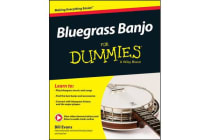 Bluegrass Banjo for Dummies - Book + Online Video & Audio Instruction