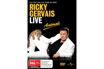 Ricky Gervais Live Animals DVD Region 4