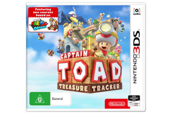 Nintendo 3DS Captain Toad: Treasure Tracker PAL Adventure 2-Player Video Game