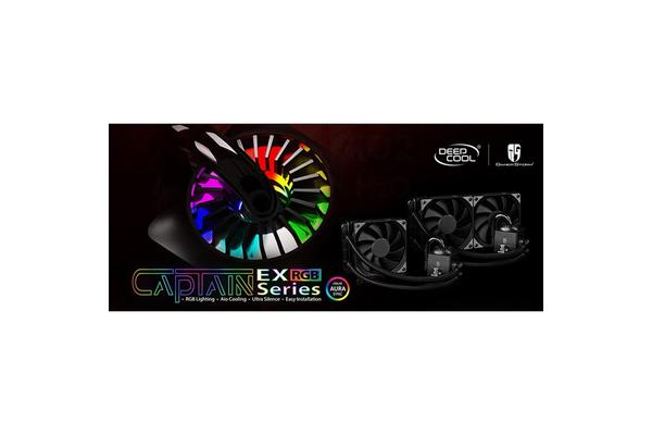 DEEPCOOL Captain 240EXRGB RGB AIO Cooling