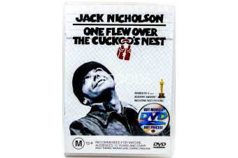 One Flew Over The Cuckoo's Nest  - Region 4 Rare- Aus Stock DVD  PREOWNED: DISC LIKE NEW