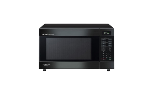 Sharp 1200W Midsize Inverter Microwave Oven (R395YBK)