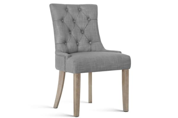 Fabric Dining Chair (Grey)