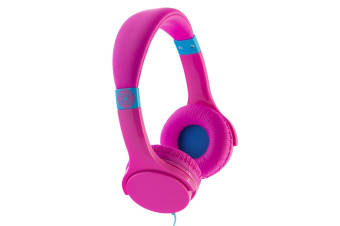Moki Lil' Kids Safe Over Ear Headphones - Pink (ACCHPLILPK)