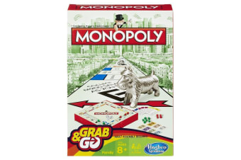 Grab and Go Monopoly Travel Game