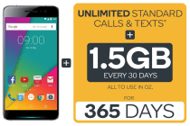 Kogan Agora 6 Plus (32GB) + Kogan Mobile Prepaid Voucher Code: SMALL (365 Days | 1.5GB Per 30 Days)