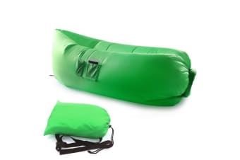 Green Fast Inflatable Sofa Lounge