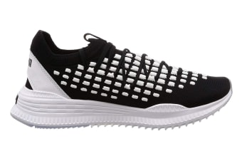 PUMA Men's AVID FUSEFIT Shoe (Black/White, Size 9.5)