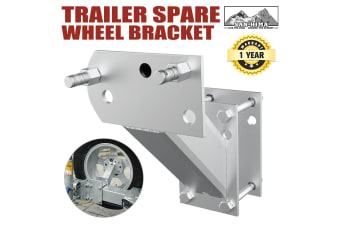 ATEM POWER Spare Wheel Carrier Bracket Type Holder Trailer Part Caravan Boat NEW