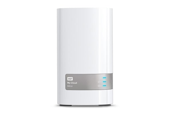WD 4TB My Cloud Mirror (Gen 2) 2-Bay Personal Cloud Storage NAS (WDBWVZ0040JWT-SESN)