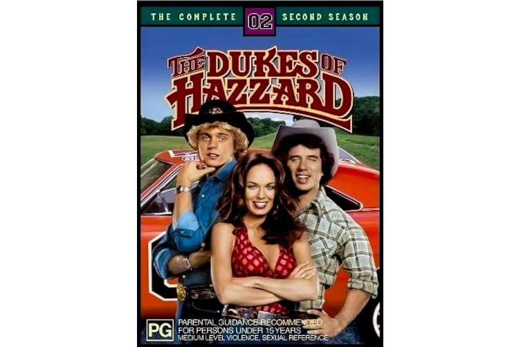 The Dukes Of Hazzard : The Complete Second Season 2 - Series Preowned DVD: DISC LIKE NEW