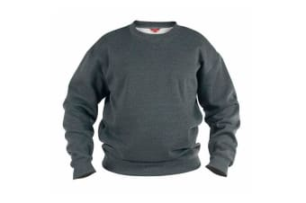 Duke Mens Rockford Kingsize Sweat Crew Neck Jumper (Grey) (2XL)