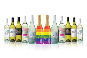 Australian Mixed White Carton Featuring Yellowglen Yellow Sparkling (12 Bottles)