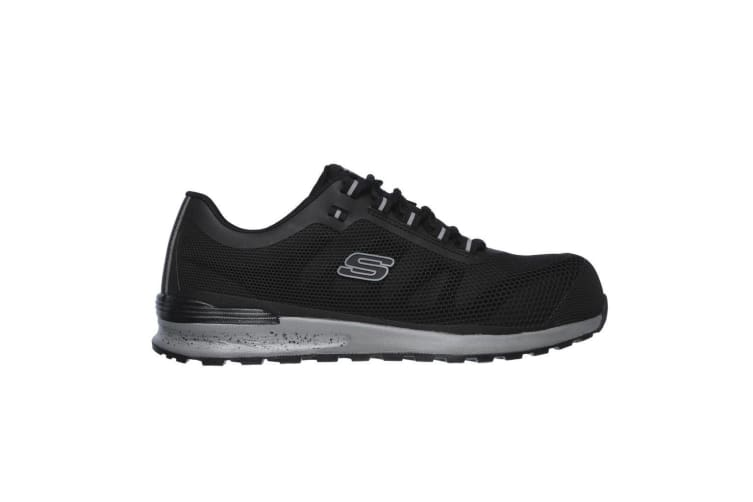 Skechers Mens Bulklin Lace Up Safety Shoes (Black) (12 UK)