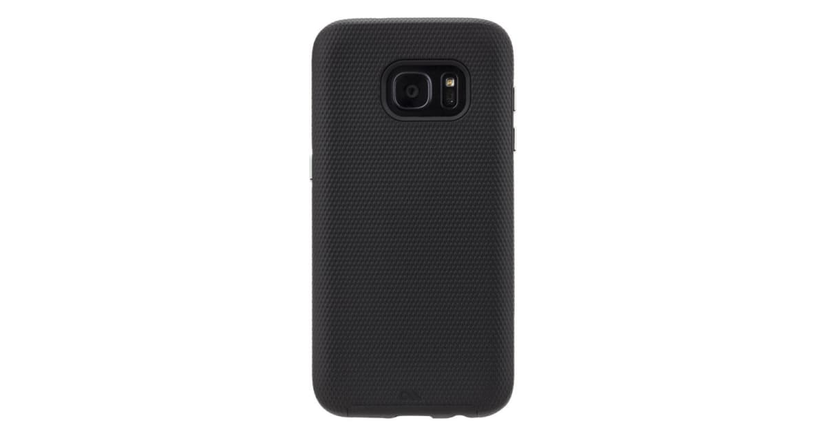 check out 516b4 5c7b9 Case-Mate Tough Case for Samsung Galaxy S7 Edge - Black | Phone Cases