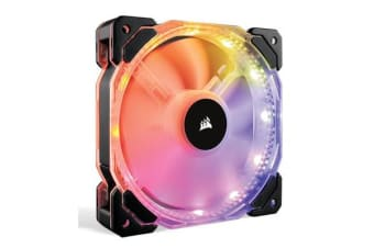 Corsair HD 120mm PWM RGB LED Fan with Controller