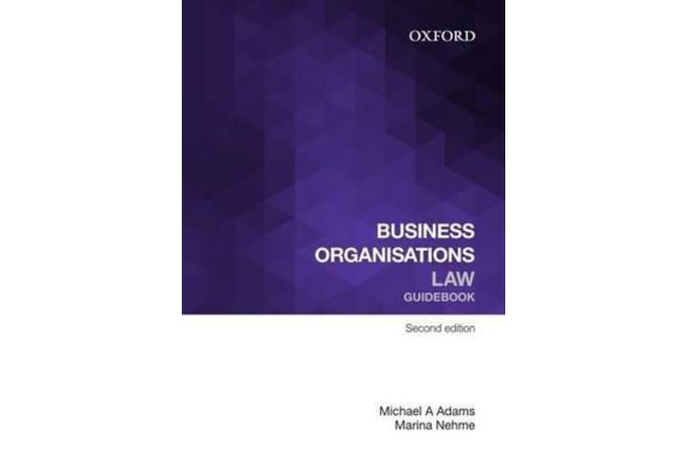 Business Organisations Law Guidebook