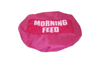 Bitz Morning Feed Bucket Cover (Fluorescent Pink) (One Size)