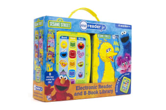 Sesame Street Electronic Reader Junior with 8 Books