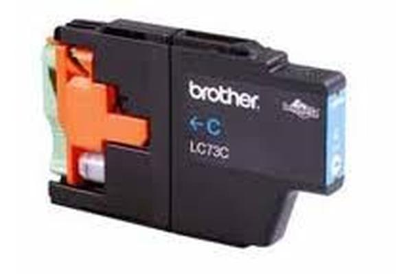 Brother LC73C Hi Yield Cyan Up to 600 Pages