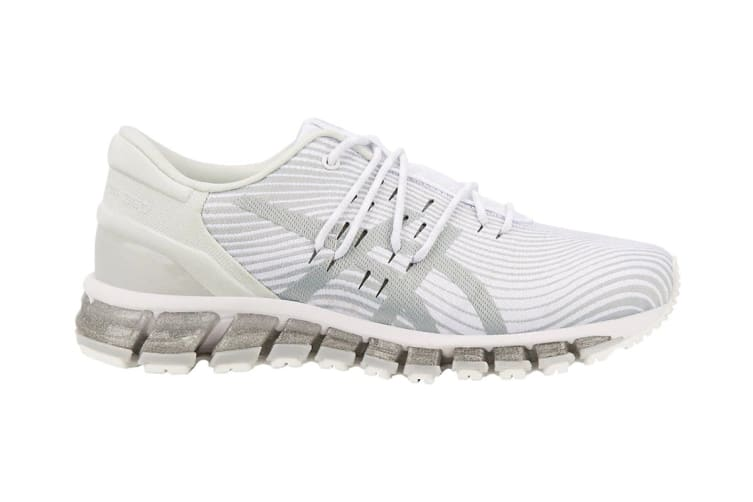 ASICS Women's Gel-Quantum 360 4 Running Shoe (White/Mid Grey, Size 8.5)