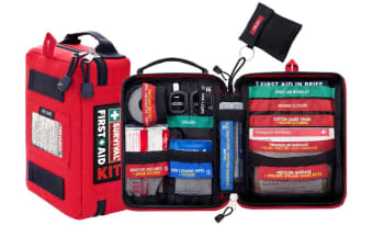 SURVIVAL First Aid Kit - Handy