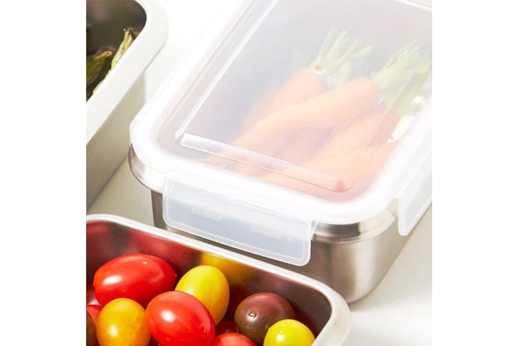 Kitchen Pro Boston Stainless Steel Food Storage Container 1L
