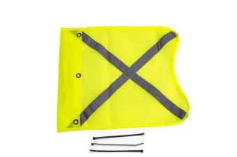 4x4 Equip High Vis Safety Replacement Genuine Desert Sand Dune Mining Flag Yello