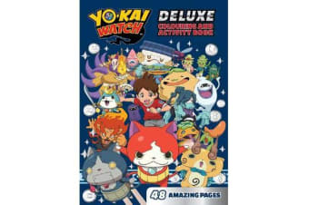 Yo-Kai Watch Deluxe Colouring and Activity Book
