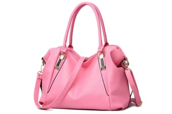 Women Top Handle Satchel Handbags Shoulder Bag Messenger Tote Bag Pink