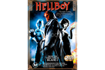 Hellboy - Region 4 Rare- Aus Stock DVD PREOWNED: DISC LIKE NEW
