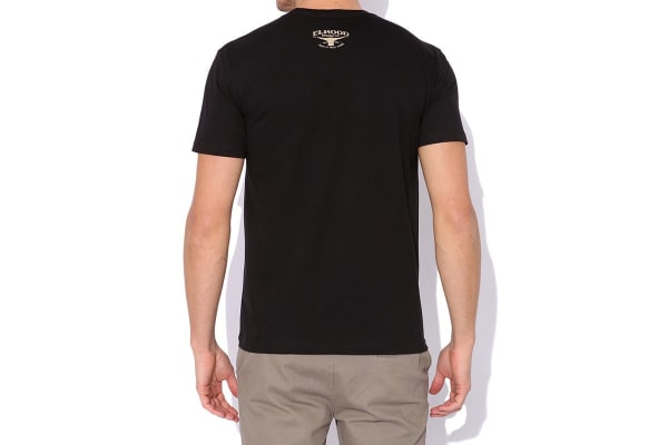 Elwood Men's Chief Rocka Tee (Black, Medium)