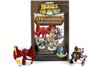 Heroes of Land  Air & Sea - Mercenaries Pack 2