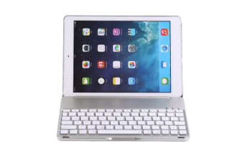 Wireless Bluetooth V3.0 Keyboard Case For Ipad Air 2 Apple Silver