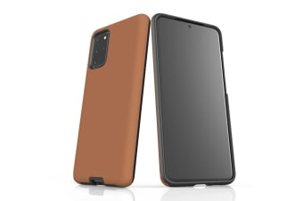 For Samsung Galaxy S20+ Plus Case  Armour Back Cover  Brown